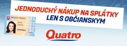 Nábytok na splátky - Quatro