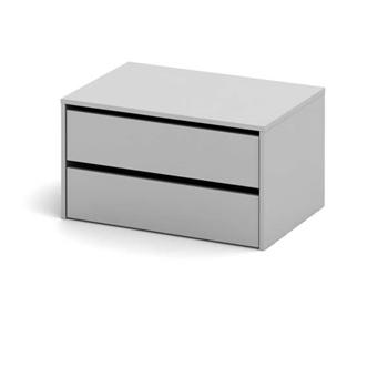biela - Dvojzásuvkový kontajner VVS-001-00