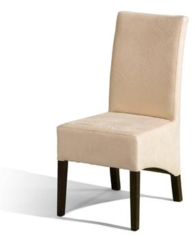Čalúnená drevená stolička U-2