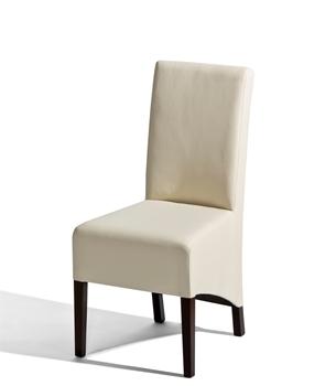 Čalúnená drevená stolička U-6
