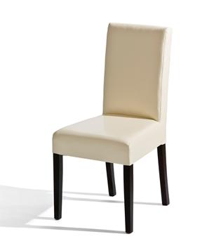 Čalúnená drevená stolička U-5