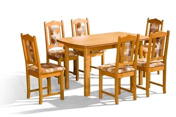 Jedálenský rozkladací stôl Saturn P