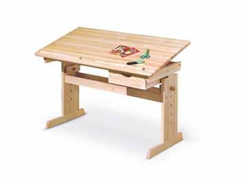 Drevený rastúci stôl Júlia