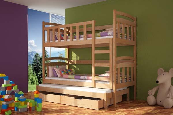Poschodová posteľ Damian