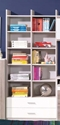 Obývacie izby - knihovnice
