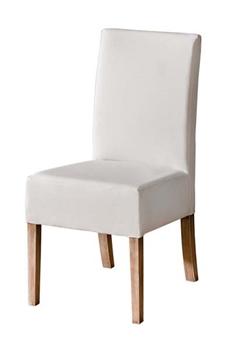 Čalúnená drevená stolička sektoru CARMELO-C23