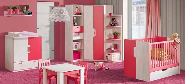 nábytok do detskej izby pre dievčatko