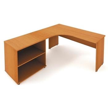 Rohový kancelársky stôl NEX WEL-NSE 60 D P