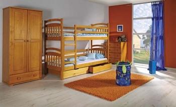 Poschodová posteľ IREK