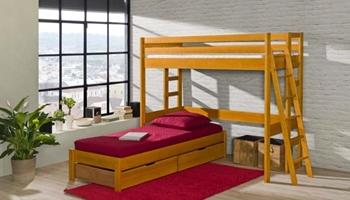 Poschodová posteľ MARCEL