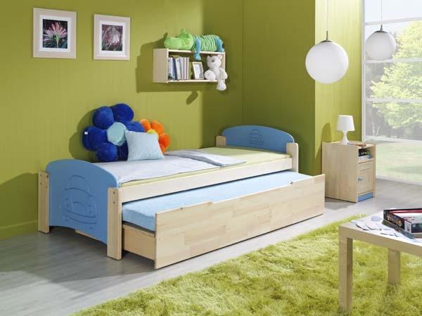 posteľ s výsuvným lôžkom