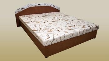 Aleš hnedý / Vento č. 11 (hnedá) - Manželská posteľ PAULA