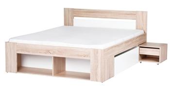 posteľ MILO 08 - 140 - nočný stolík