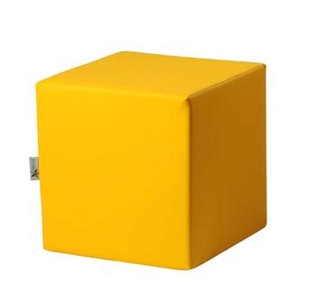 Čalúnená molitanová kocka KUBO