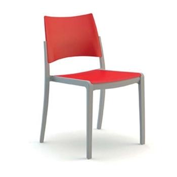 Celoplastová stolička FRESH/A