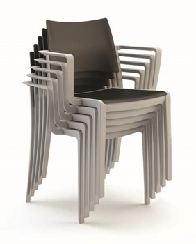Celoplastová stolička FRESH/B