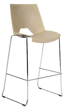 Stohovateľná barová stolička 2130/SB PC STRIKE