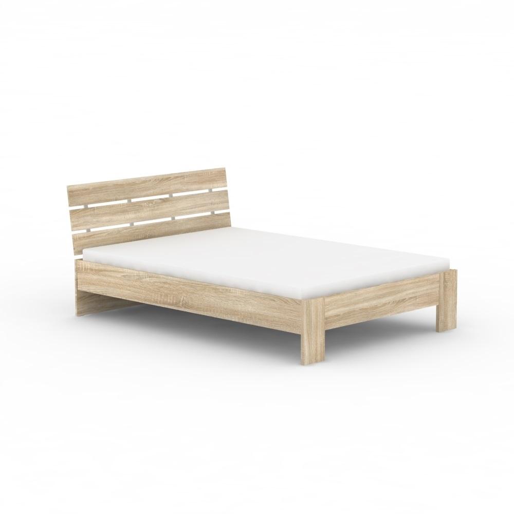 dub bardolino - Jednolôžková posteľ REA NASŤA