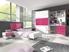 biela + ružový lesk - RAJ 3 - detská izba