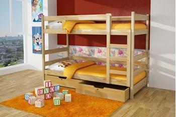 Poschodová posteľ Bravo