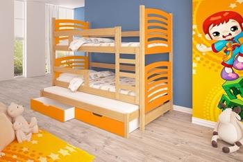 borovica + oranžová
