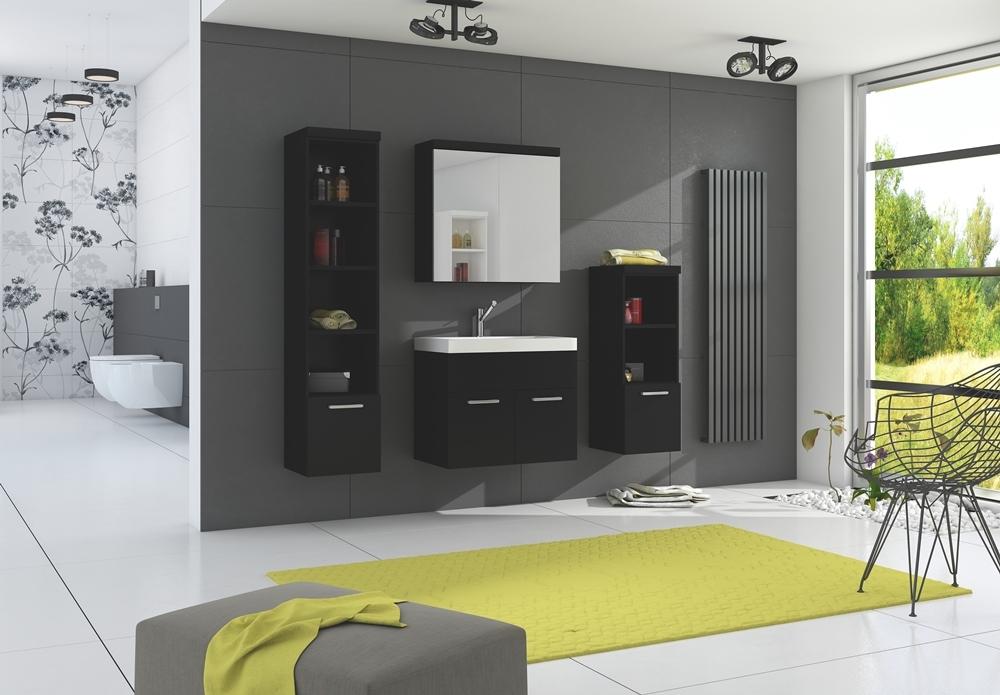 skrinky do kúpeľne čierne