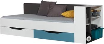 TABLO posteľ a regál TA12 A+B