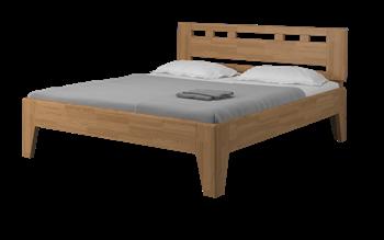Manželská posteľ z masívu MELISA