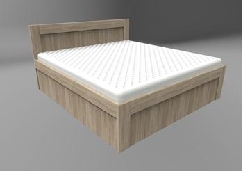 ilustračné foto 1 - Manželská posteľ Tivoli + 2x rošt KLASIK BVP