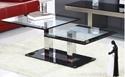 Konferenčné a príručné stolíky - so sklom