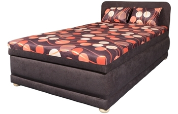 Polohovateľná posteľ (váľanda) EMA 120 s čelom