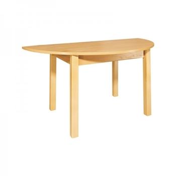Stôl detský polkruh
