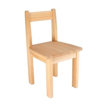Detská stolička z bukového masívu - Model 01