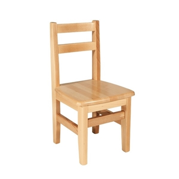 Detská stolička z bukového masívu - Model 04