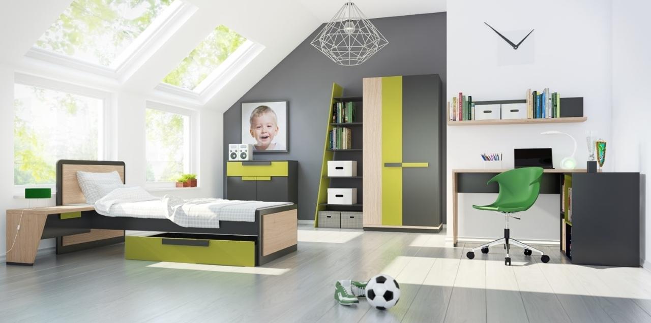 Detská izba WOW 1 - WOW - sektorová detská izba