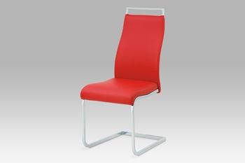 Stolička HC-649 red / grey1