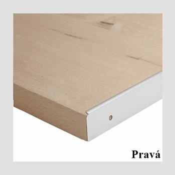 Koncová lišta REA ALFA PDS-28-KONCOVÁ L/P