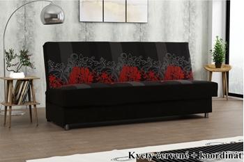 Kvety červené / koordinát