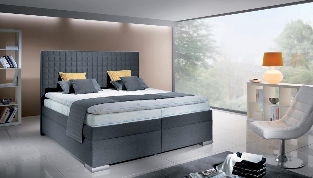 ilustračné foto - Manželská posteľ Boxspring Rialto