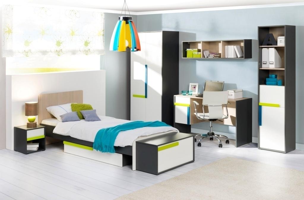 detská izba zelená modrá