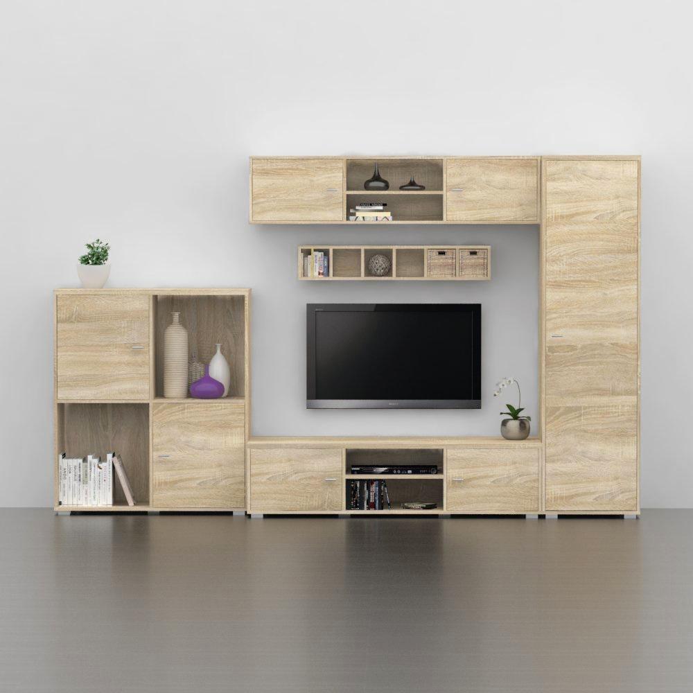 dub bardolino - REA DENISA UP - obývačkový sektor
