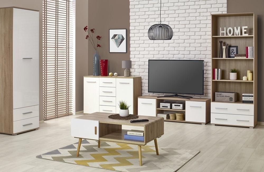 moderný sektorový nábytok do obývačky