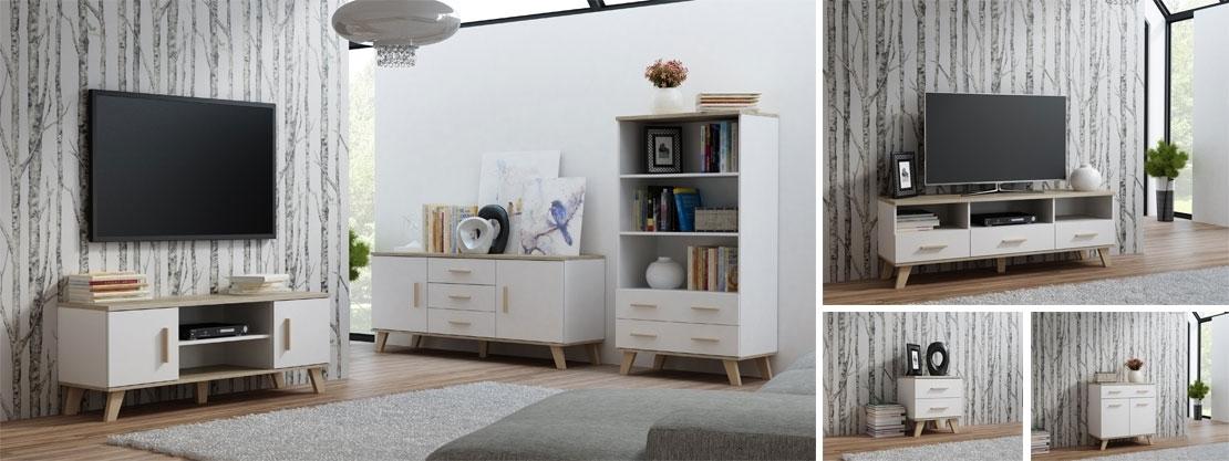 škandinávsky nábytok