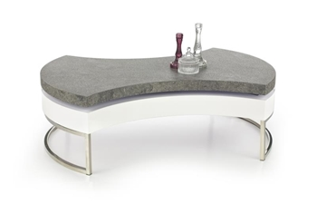 chróm / biely lesk + beton