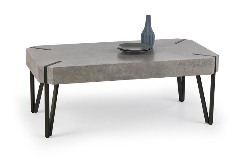 konferenčný stolík s betónom