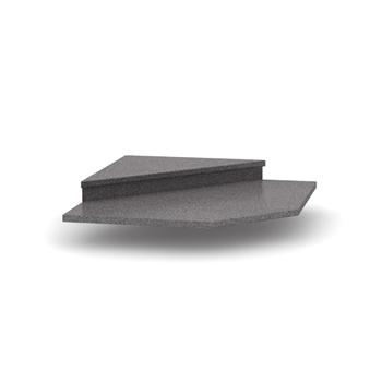 granit antracit - Nadstavec k rohovej skrinke NOVA PLUS DO-001-00