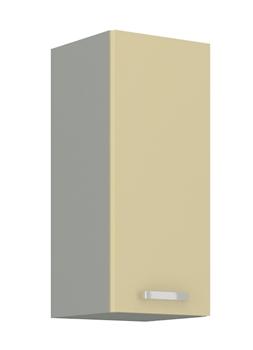 sivý mat + krémový vysoký lesk