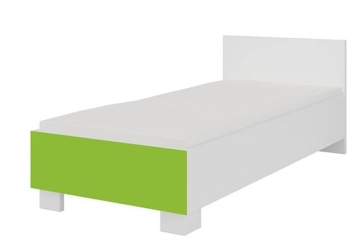 872439a465bb DOMINO - BIELA posteľ TYP36 - Nonstop Nábytok