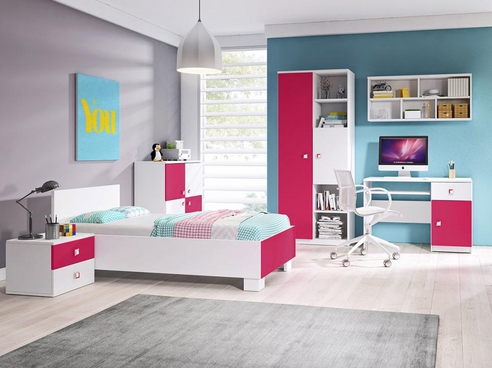 ružová detská izba
