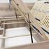 lamelový rošt s plynovými piestami - Manželská posteľ REA SAXANA UP 160/180